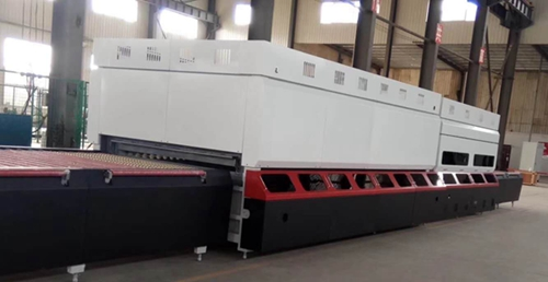 Flat convection glass tempering furnace is ready for Kyrgyzstan customer