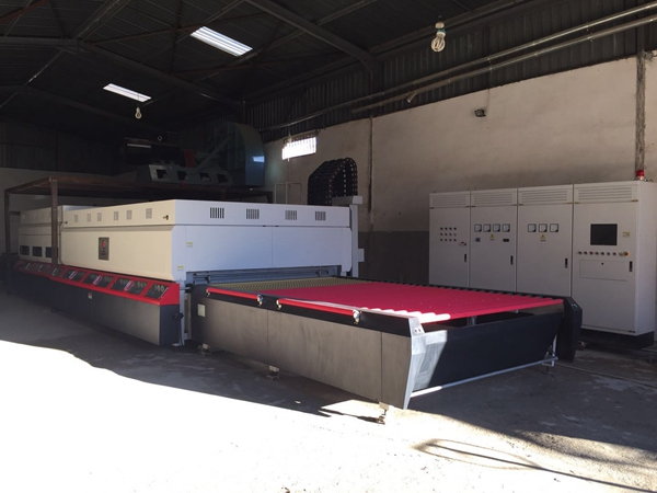 Two more new tempering lines put into production in customers' factories