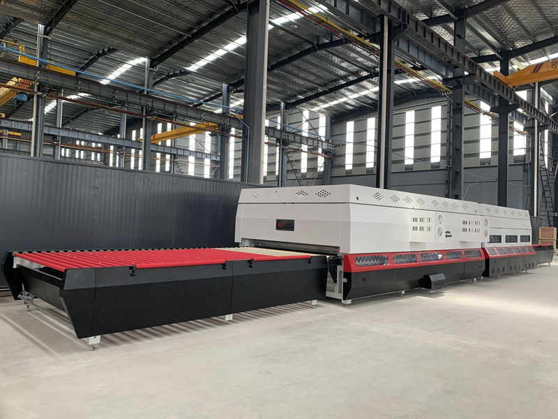 Force convection glass tempering furnace SH-FA2442 ready for Turkey customr