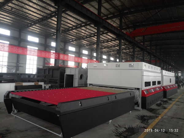 New ready glass tempering furnace for Iraq client