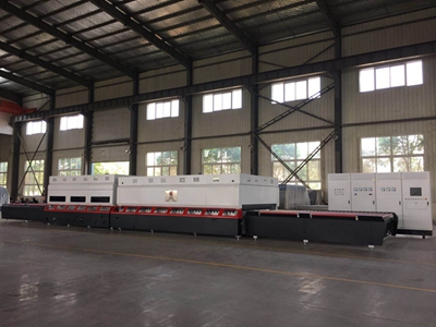 Glass tempering furnace is ready for Algeria customer