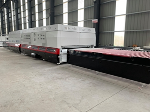 Deliver glass tempering furnace 2000x4200mm to customer
