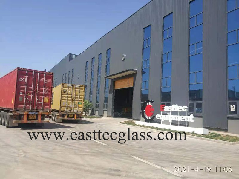 1800x3200mm tempering furnace deliver to Bolivia